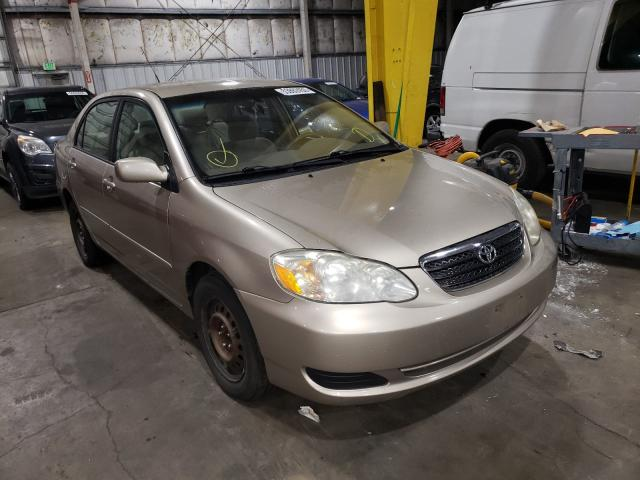 Salvage cars for sale from Copart Woodburn, OR: 2006 Toyota Corolla CE