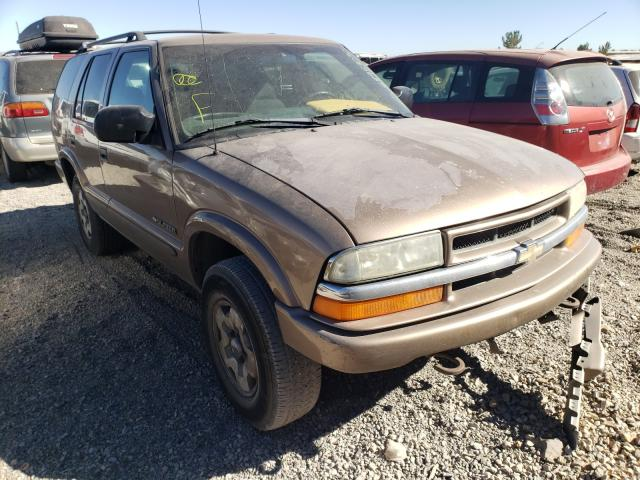 Salvage cars for sale from Copart Reno, NV: 2003 Chevrolet Blazer