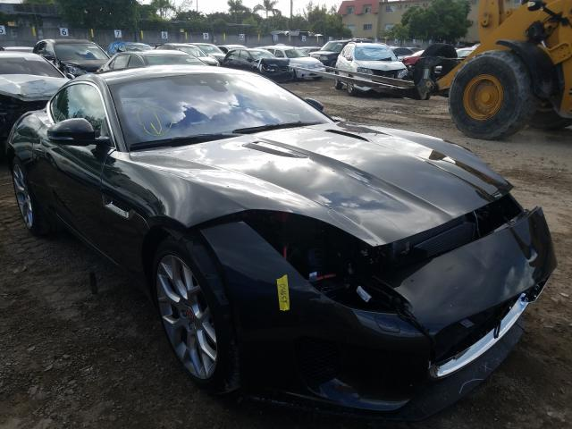 Salvage cars for sale from Copart Opa Locka, FL: 2018 Jaguar F-Type