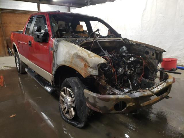 Salvage cars for sale from Copart Ebensburg, PA: 2008 Ford F150
