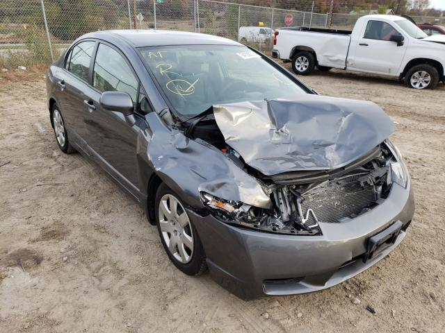 Salvage cars for sale from Copart Madison, WI: 2009 Honda Civic LX