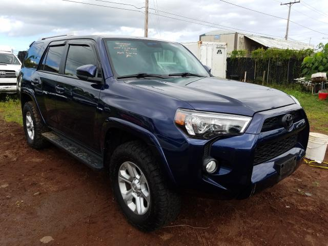 Salvage cars for sale from Copart Kapolei, HI: 2018 Toyota 4runner SR