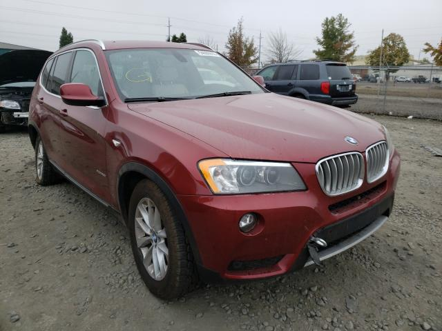 BMW X3 XDRIVE2 salvage cars for sale: 2012 BMW X3 XDRIVE2