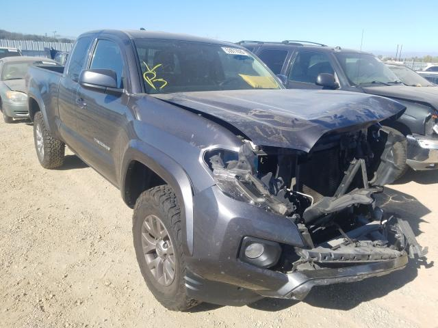 Salvage cars for sale from Copart Anderson, CA: 2016 Toyota Tacoma ACC