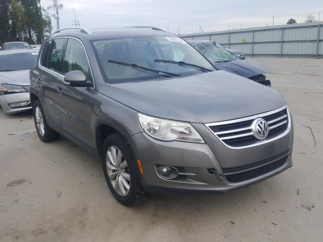 Salvage cars for sale from Copart Dunn, NC: 2011 Volkswagen Tiguan S
