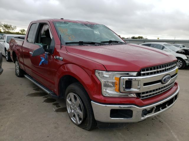 Salvage cars for sale from Copart Wilmer, TX: 2018 Ford F150 Super