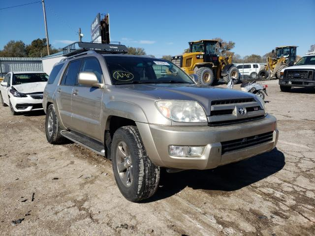 Toyota 4runner LI salvage cars for sale: 2003 Toyota 4runner LI