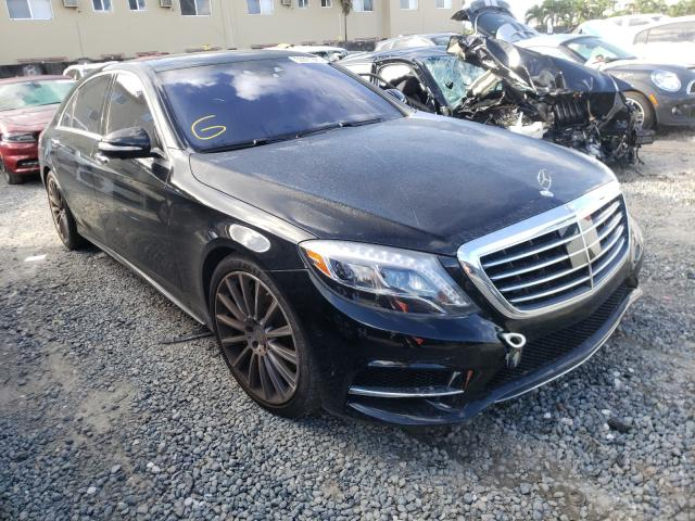 Salvage cars for sale from Copart Opa Locka, FL: 2016 Mercedes-Benz S 550