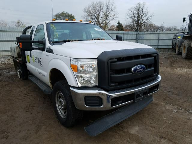 Salvage cars for sale from Copart Blaine, MN: 2016 Ford F350 Super