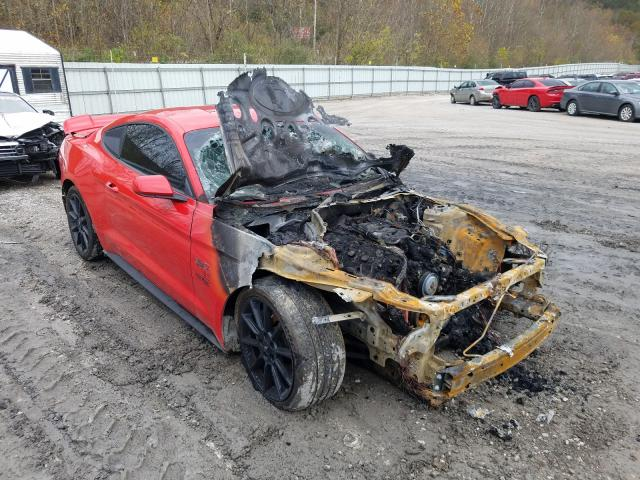 Salvage cars for sale from Copart Hurricane, WV: 2016 Ford Mustang GT