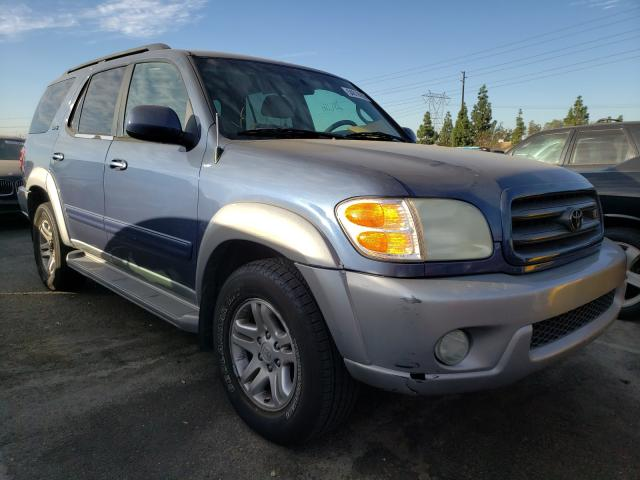 Salvage cars for sale from Copart Colton, CA: 2003 Toyota Sequoia SR