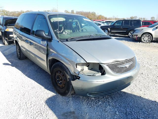 Salvage cars for sale from Copart Des Moines, IA: 2003 Chrysler Town & Country