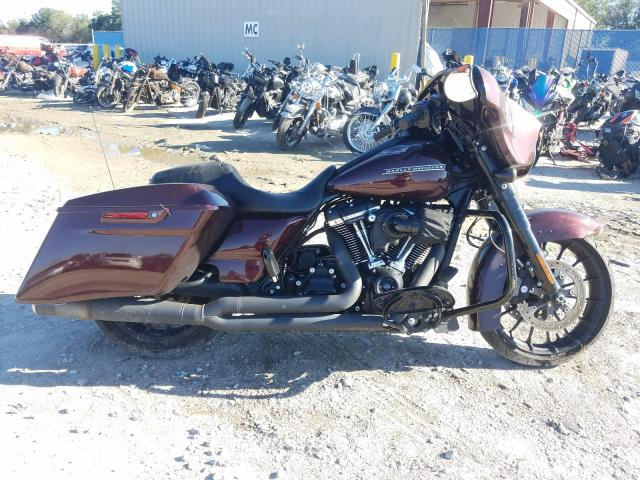 Salvage cars for sale from Copart Riverview, FL: 2018 Harley-Davidson Flhxs Street