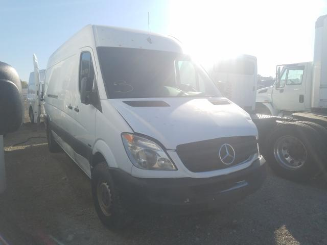 Mercedes-Benz Sprinter 2 salvage cars for sale: 2010 Mercedes-Benz Sprinter 2