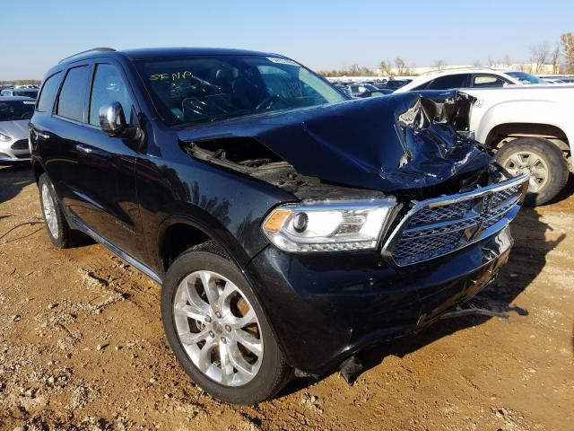 Salvage cars for sale from Copart Bridgeton, MO: 2016 Dodge Durango CI