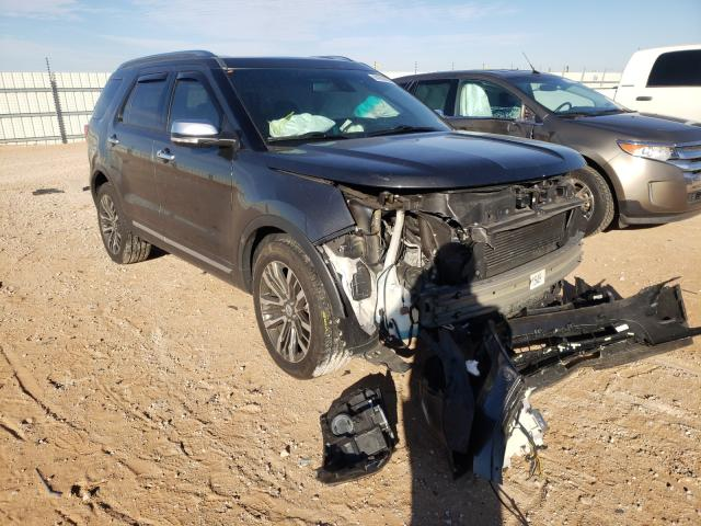 Salvage cars for sale from Copart Andrews, TX: 2016 Ford Explorer P