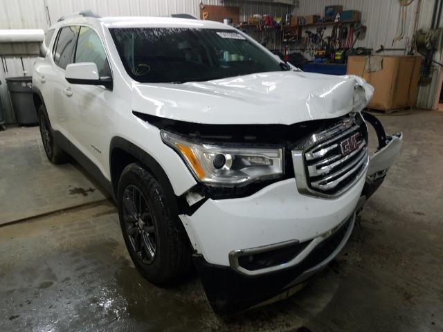 Salvage cars for sale from Copart Avon, MN: 2019 GMC Acadia SLT