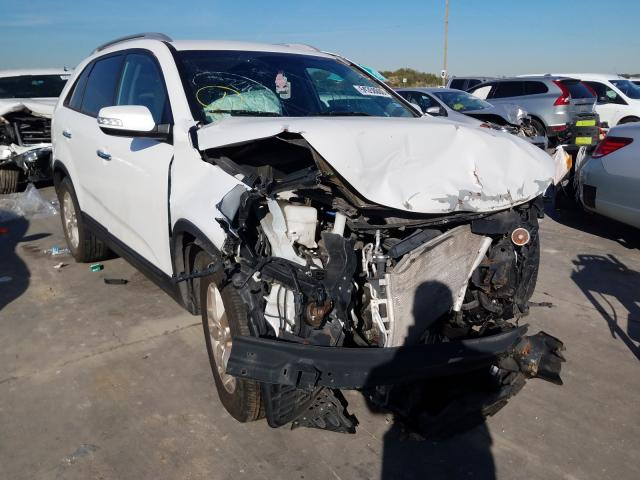 Salvage cars for sale from Copart Grand Prairie, TX: 2015 KIA Sorento LX