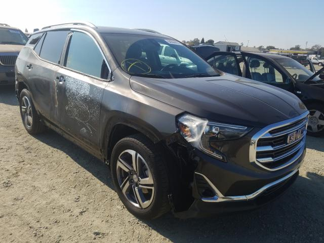 Salvage cars for sale from Copart Antelope, CA: 2019 GMC Terrain SL