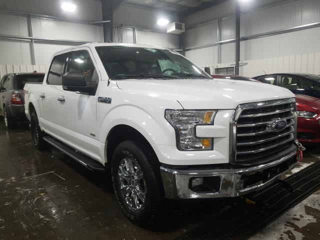 Vehiculos salvage en venta de Copart Ham Lake, MN: 2017 Ford F150 Super