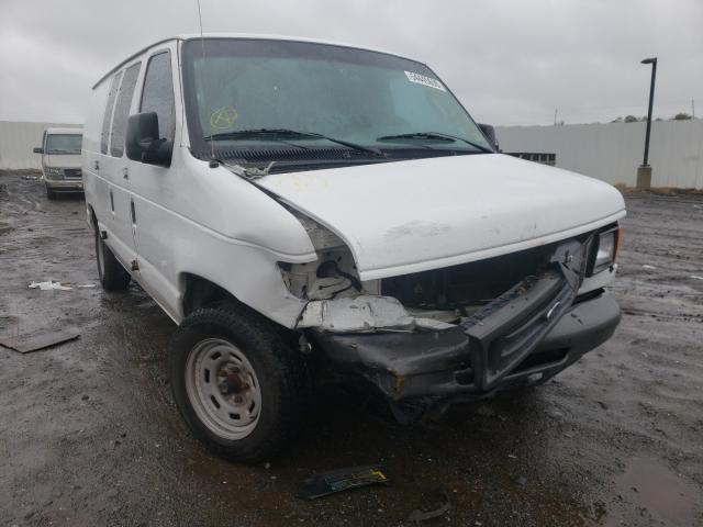 Salvage cars for sale from Copart Hillsborough, NJ: 2005 Ford Econoline