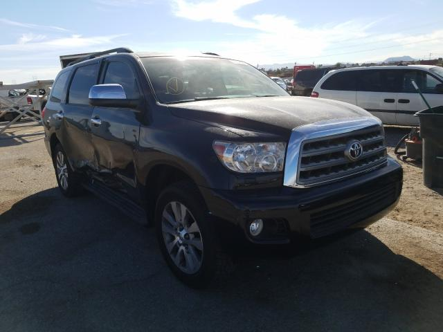 Toyota Sequoia salvage cars for sale: 2015 Toyota Sequoia