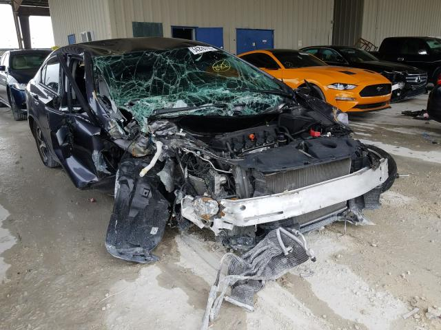 Salvage cars for sale from Copart Homestead, FL: 2015 Honda Civic SE