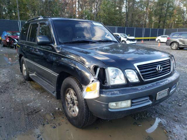 Lexus LX 470 salvage cars for sale: 2000 Lexus LX 470