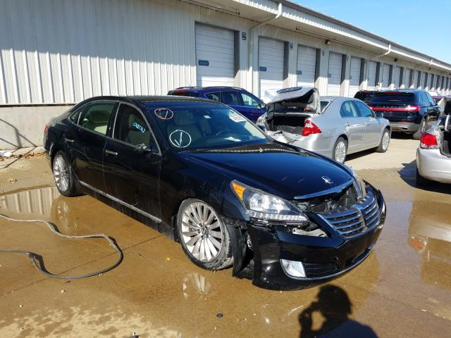Salvage cars for sale from Copart Louisville, KY: 2016 Hyundai Equus Sign