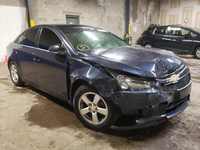 Salvage cars for sale from Copart Chalfont, PA: 2014 Chevrolet Cruze LT