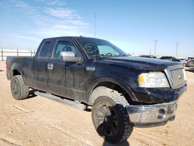 Salvage cars for sale from Copart Andrews, TX: 2006 Ford F150