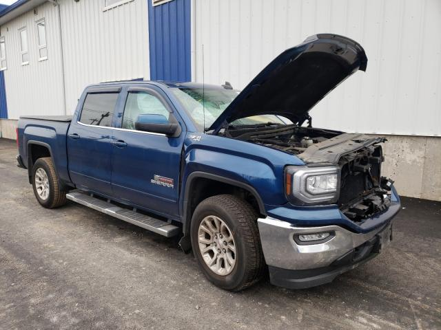 Salvage cars for sale from Copart Atlantic Canada Auction, NB: 2016 GMC Sierra K15