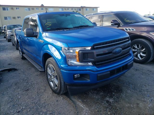 Salvage cars for sale from Copart Opa Locka, FL: 2019 Ford F150 Super