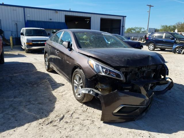 Salvage cars for sale from Copart Abilene, TX: 2017 Hyundai Sonata SE