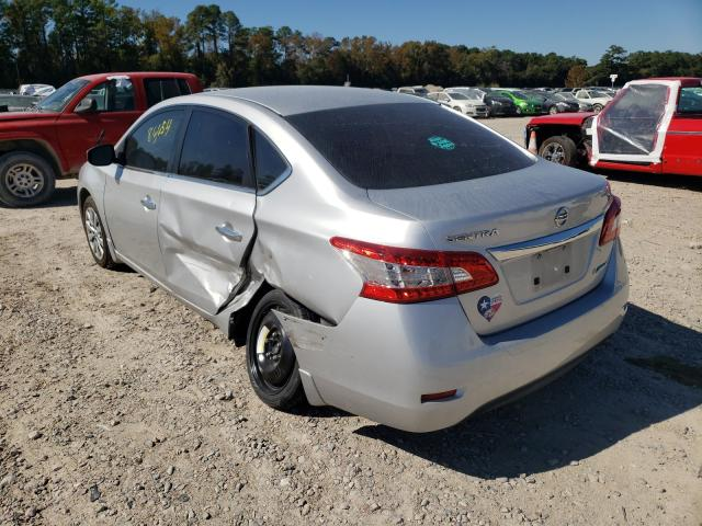 купить 2014 Nissan Sentra S 1.8L 3N1AB7AP4EY290651