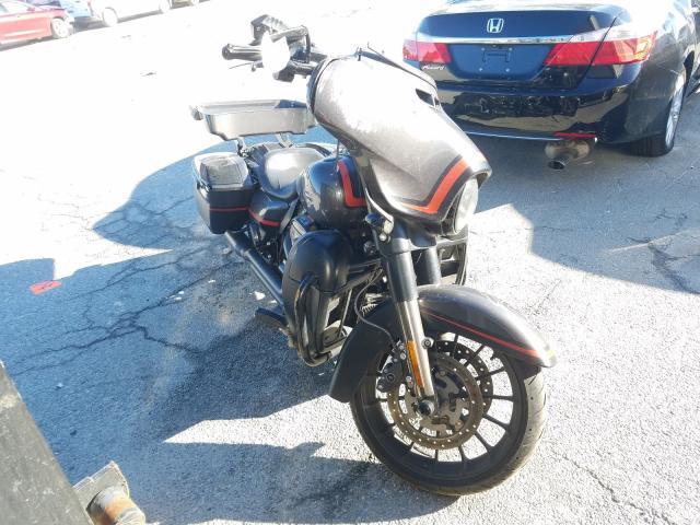 Salvage motorcycles for sale at Savannah, GA auction: 2018 Harley-Davidson Flhxse CVO