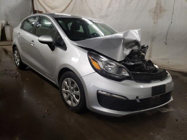 KIA Rio LX salvage cars for sale: 2016 KIA Rio LX