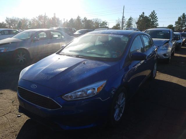 из сша 2018 Ford Focus Se 2.0L 1FADP3K27JL270152