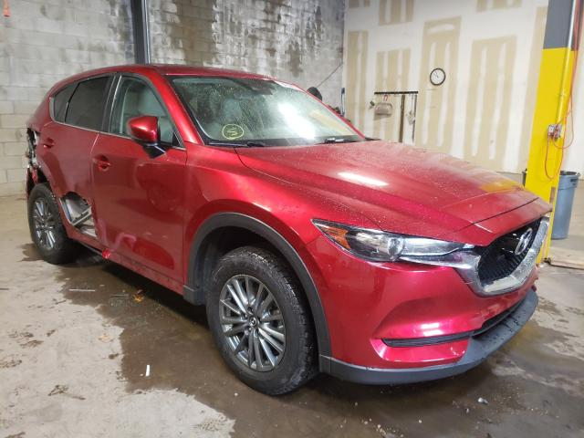 Salvage cars for sale from Copart Chalfont, PA: 2017 Mazda CX-5 Touring