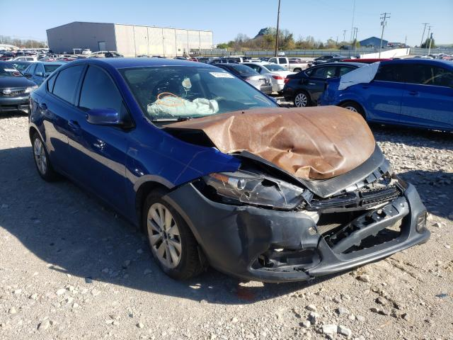 Salvage cars for sale from Copart Lawrenceburg, KY: 2014 Dodge Dart