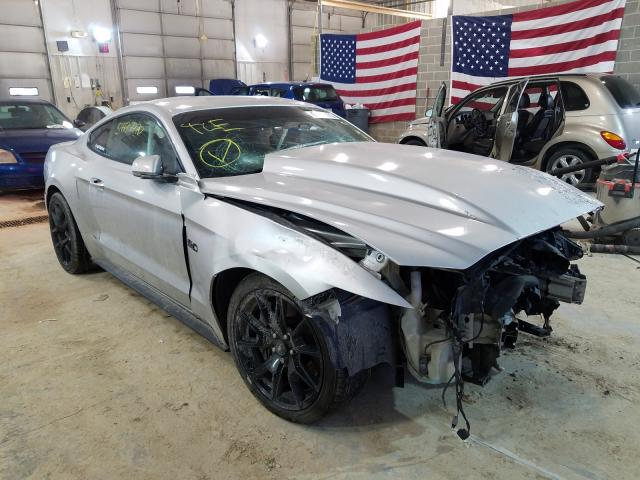 Salvage cars for sale from Copart Columbia, MO: 2017 Ford Mustang GT