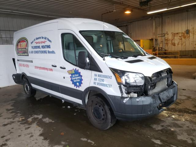 Salvage cars for sale from Copart Candia, NH: 2016 Ford Transit T