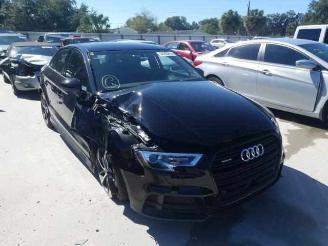 Salvage cars for sale from Copart Punta Gorda, FL: 2020 Audi A3 S-Line