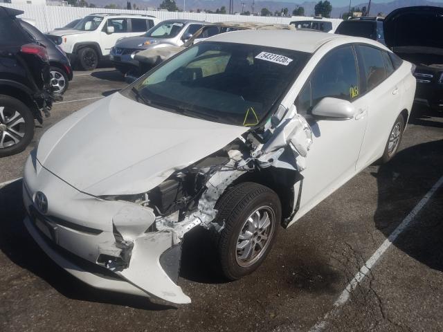 из сша 2016 Toyota Prius 1.8L JTDKBRFU9G3020404