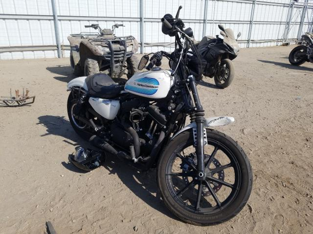 Salvage cars for sale from Copart Bakersfield, CA: 2019 Harley-Davidson XL1200 NS