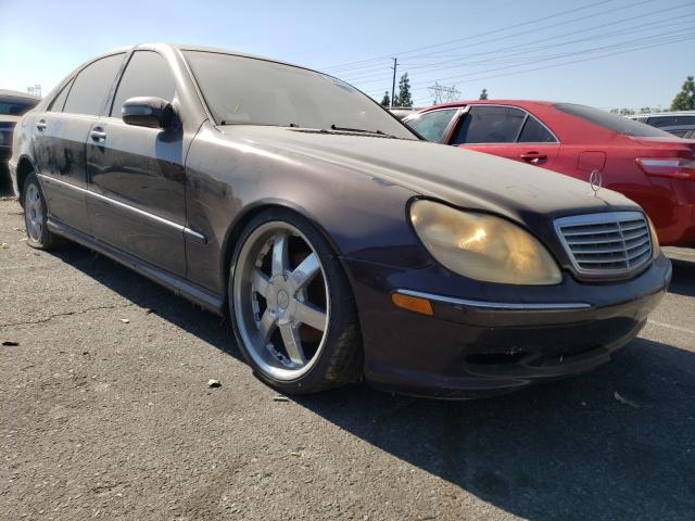 Salvage cars for sale from Copart Rancho Cucamonga, CA: 2001 Mercedes-Benz S 430