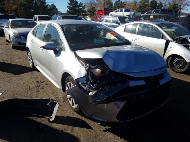 Salvage cars for sale from Copart Denver, CO: 2020 Toyota Corolla LE