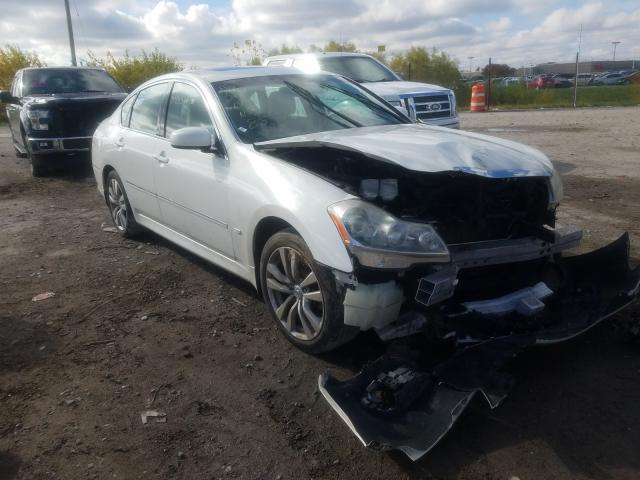 Salvage cars for sale from Copart Indianapolis, IN: 2009 Infiniti M35 Base
