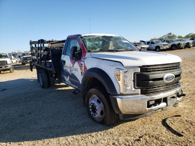 Salvage cars for sale from Copart San Antonio, TX: 2019 Ford F450 Super