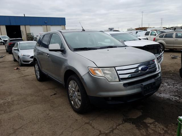 Salvage cars for sale from Copart Woodhaven, MI: 2008 Ford Edge Limited
